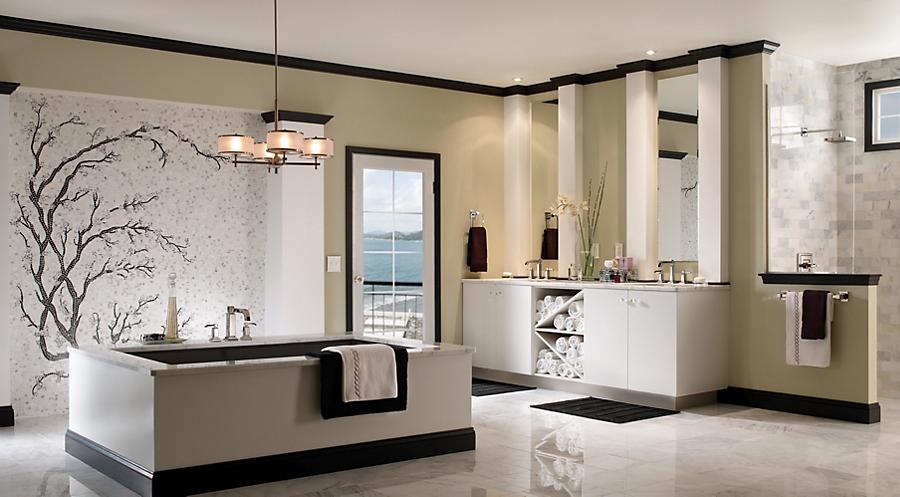 Luxurious bathroom Makeover Ideas