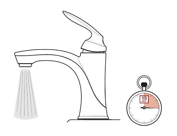 Flush Faucet