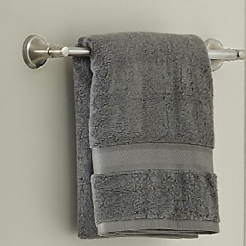 Northcott Towel on a Towel Bar