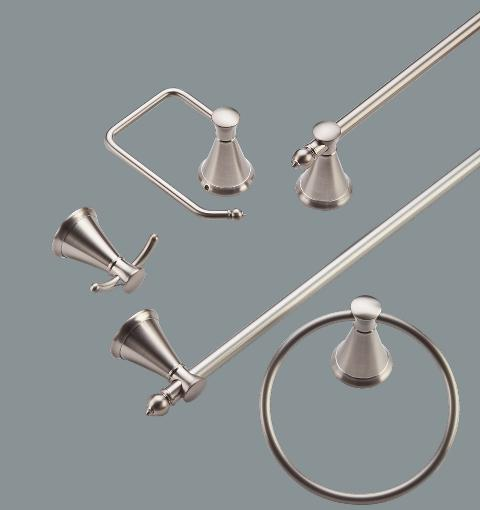 Saxton Brushed Nickel Acccessories