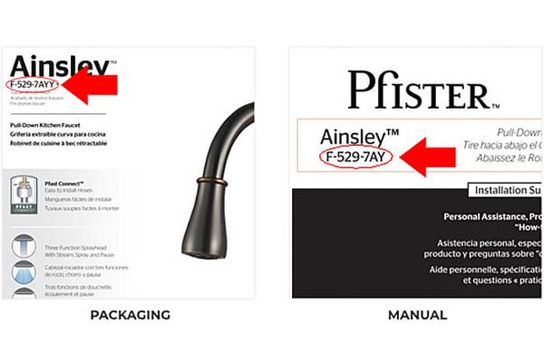 Troubleshooting Issues About Your Faucet | Pfister Faucets