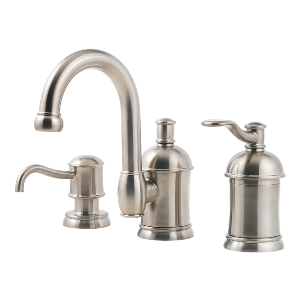 "Primary Product Image for Amherst Single Control 8"" Widespread Bathroom Faucet"