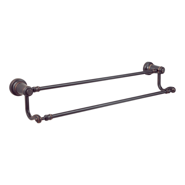 """Primary Product Image for Ashfield 24"""" Double Towel Bar"""