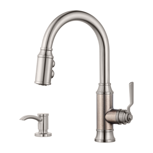 Primary Product Image for Breckenridge 1-Handle Pull-Down Kitchen Faucet