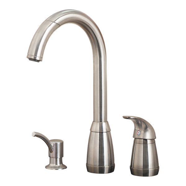 Primary Product Image for Contempra 1-Handle Pull-Down Kitchen Faucet