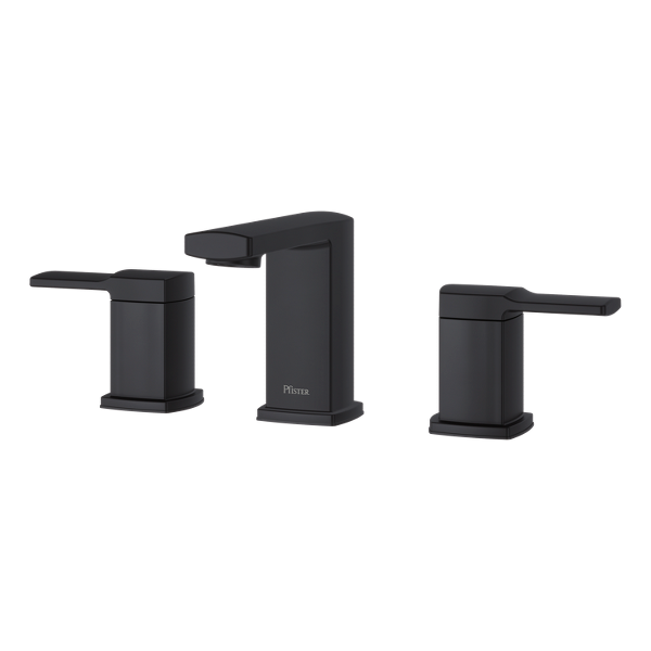 """Primary Product Image for Deckard 2-Handle 8"""" Widespread Bathroom Faucet"""