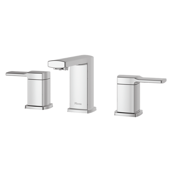 "Primary Product Image for Deckard 2-Handle 8"" Widespread Bathroom Faucet"