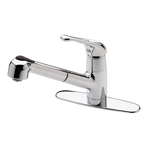 Primary Product Image for Genesis 1-Handle Pull-Out Kitchen Faucet