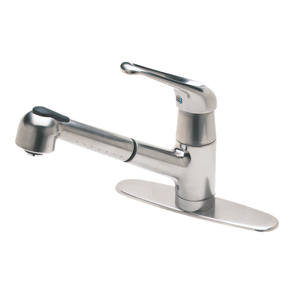 Stainless Steel Genesis T533 5ss 1 Handle Pull Out Kitchen Faucet Pfister Faucets