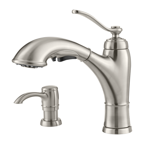 Primary Product Image for Glenfield 1-Handle Pull-Out Kitchen Faucet