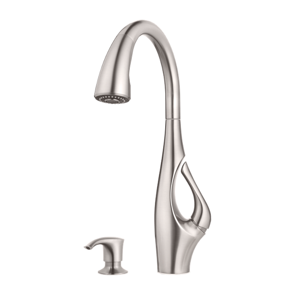 Primary Product Image for Indira 1-Handle Pull-Down Kitchen Faucet