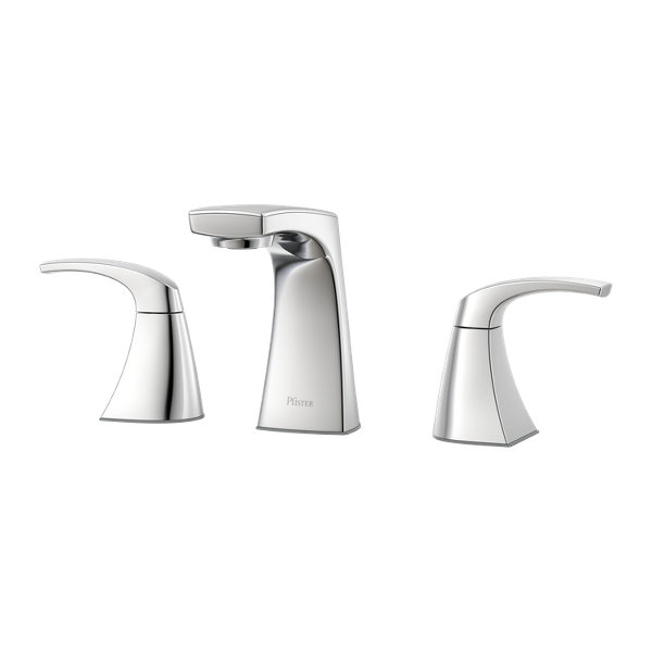 """Primary Product Image for Karci 2-Handle 8"""" Widespread Bathroom Faucet"""