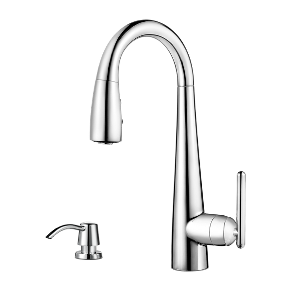 Primary Product Image for 1-Handle Pull-Down Bar & Prep Faucet