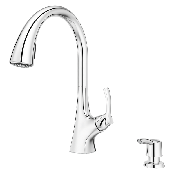 Primary Product Image for Masey 1-Handle Pull-Down Kitchen Faucet