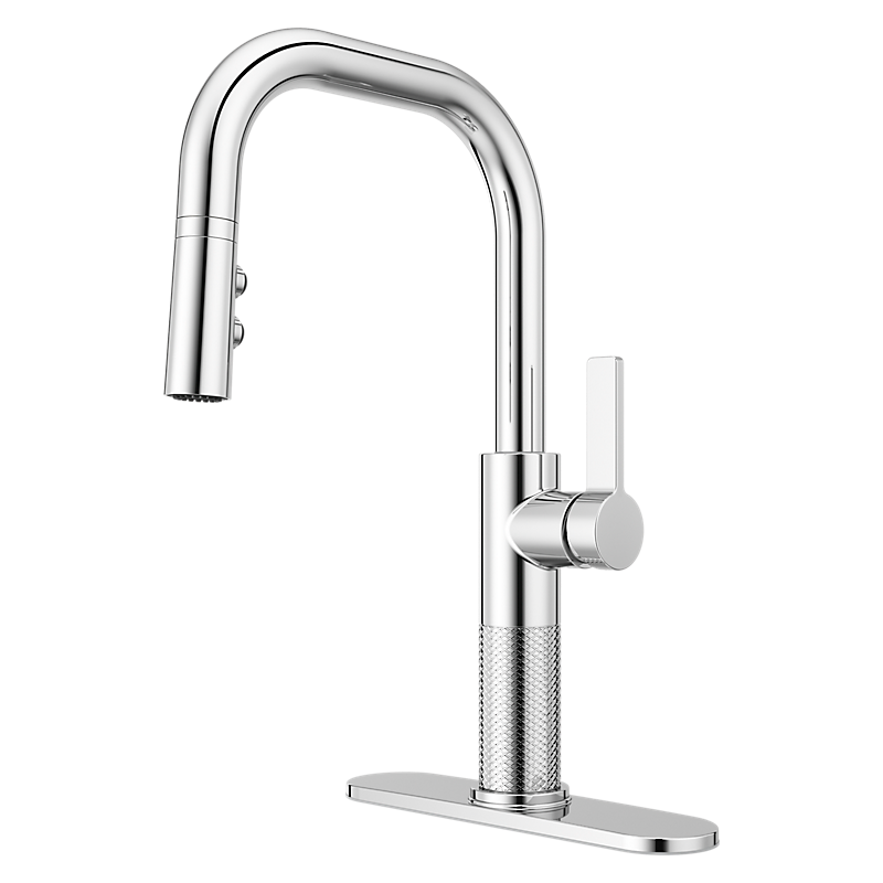 Montay Kitchen Faucet in Polished Chrome