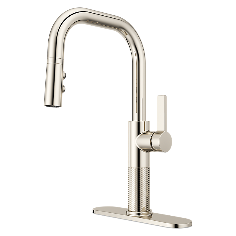 Montay Kitchen Faucet in Polished Nickel