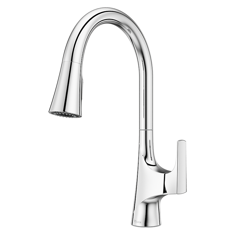Norden Kitchen Faucet in Polished Chrome