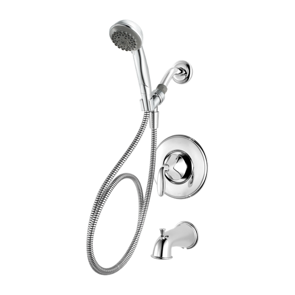 Primary Product Image for Pasadena 1-Handle Tub & Shower Faucet with Hand Held Shower