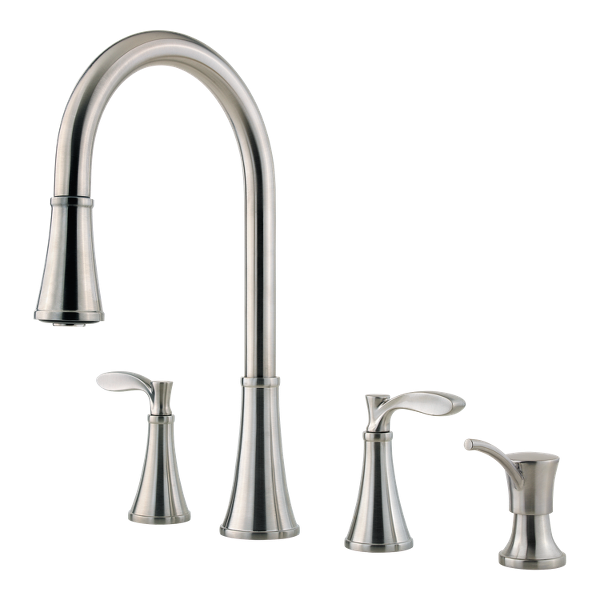 Primary Product Image for Peteluma 2-Handle Pull-Down Kitchen Faucet