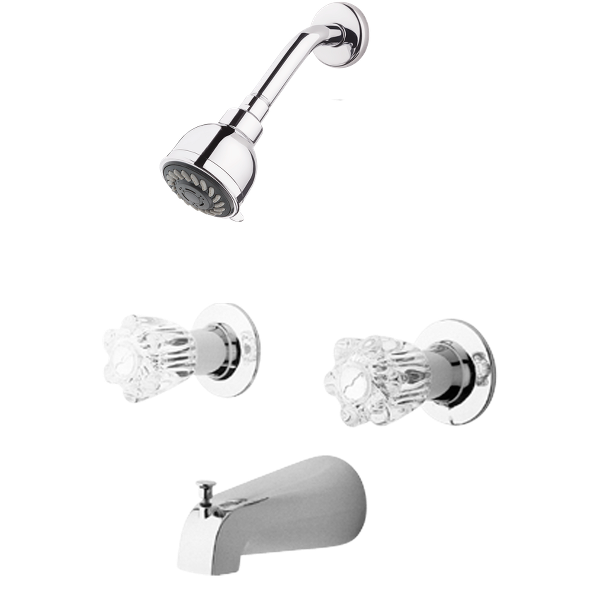Primary Product Image for Pfister 2-Handle Tub & Shower Faucet