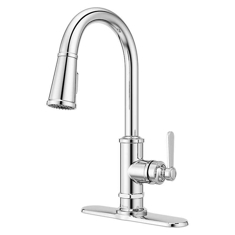 Port Haven Kitchen Faucet in Polished Chrome