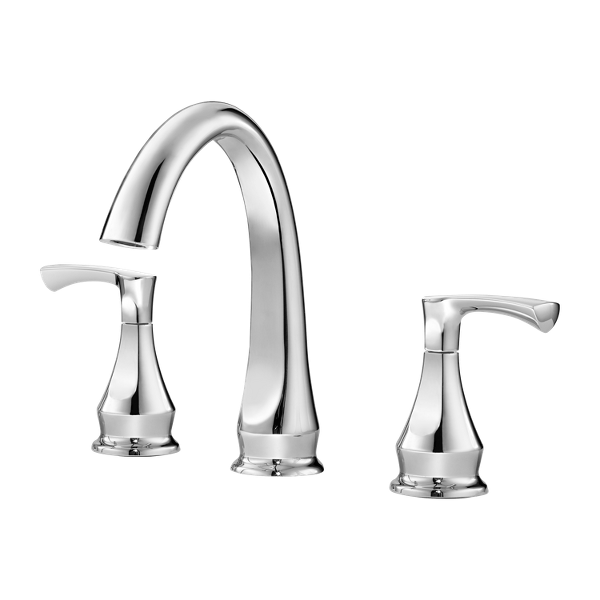 "Primary Product Image for Prima 2-Handle 8"" Widespread Bathroom Faucet"