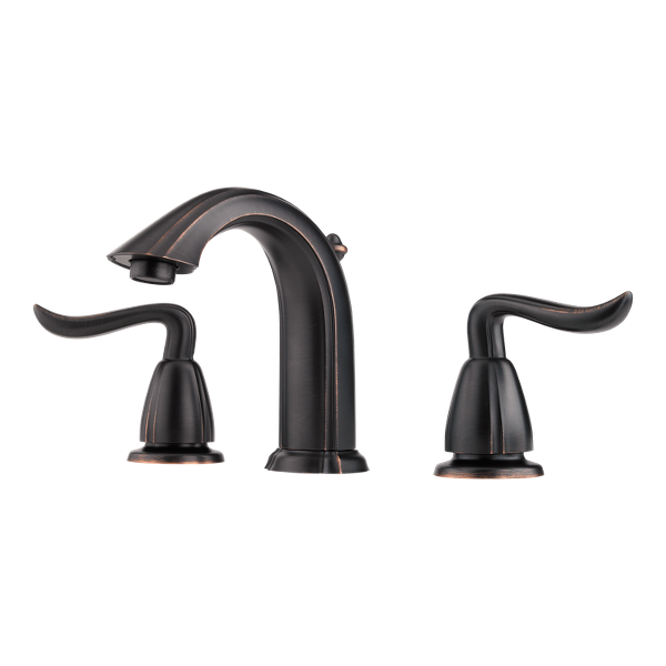 "Primary Product Image for Santiago 2-Handle 8"" Widespread Bathroom Faucet"