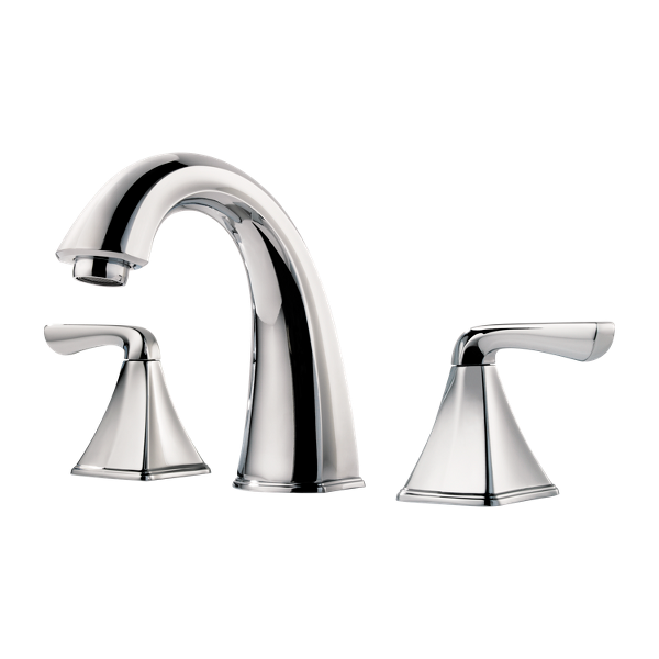 """Primary Product Image for Selia 2-Handle 8"""" Widespread Bathroom Faucet"""