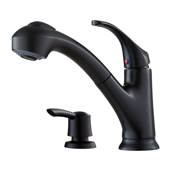Primary Product Image for Shelton 1-Handle Pull-Out Kitchen Faucet