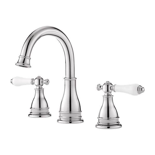 """Primary Product Image for Sonterra 2-Handle 8"""" Widespread Bathroom Faucet"""
