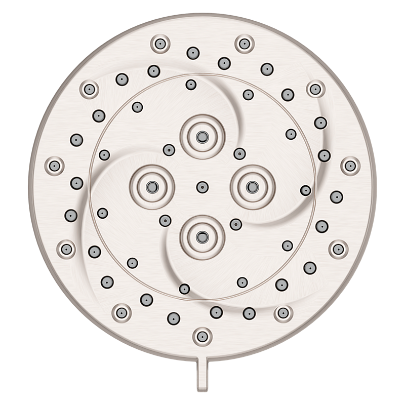Thermoforce Showerhead in Spot Defense Brushed Nickel