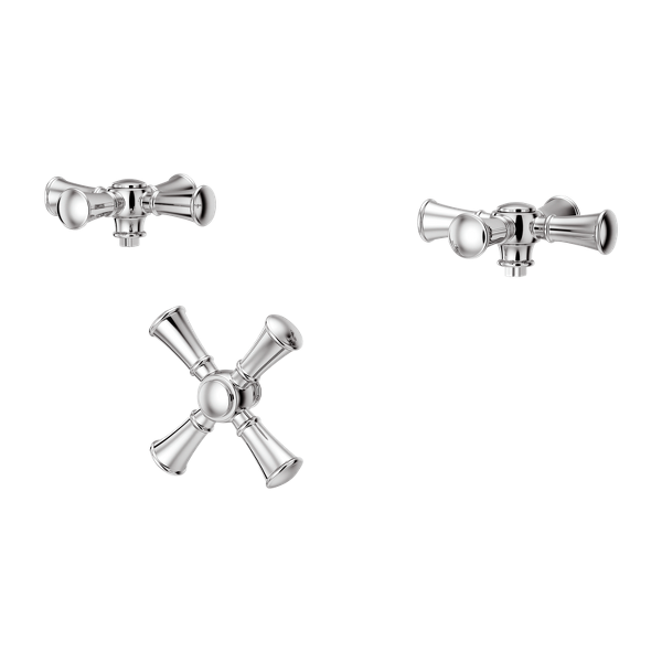Primary Product Image for Tisbury 3-Handle Tub Filler Cross Handle Kit