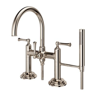 Primary Image for Tisbury - Deck Mount 2-Handle Tub Filler with Hand Shower