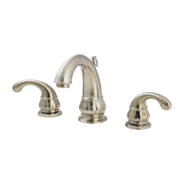 Brushed Nickel Treviso F 049 Dk00 2 Handle 8 Widespread Bathroom Faucet Pfister Faucets
